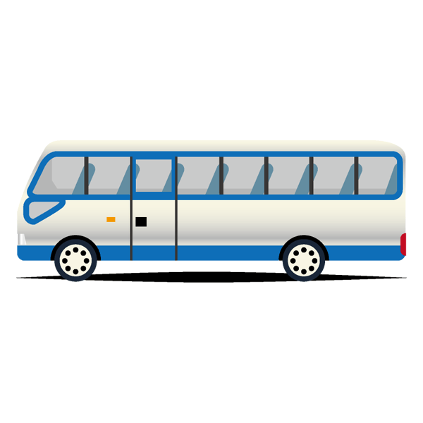 バス1台(指定範囲)